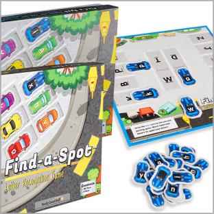 Find-A-Spot Games - Math and ELA Combo Pack