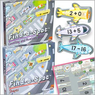 Find-A-Spot Games - Math Pack