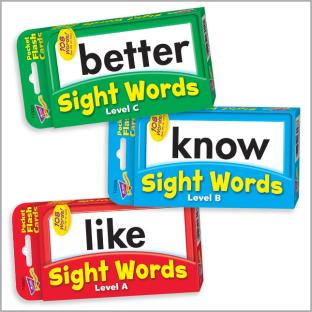 Sight Words Flash Cards Bundle