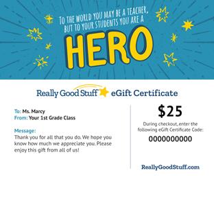 Really Good Stuff® eGift Certificates