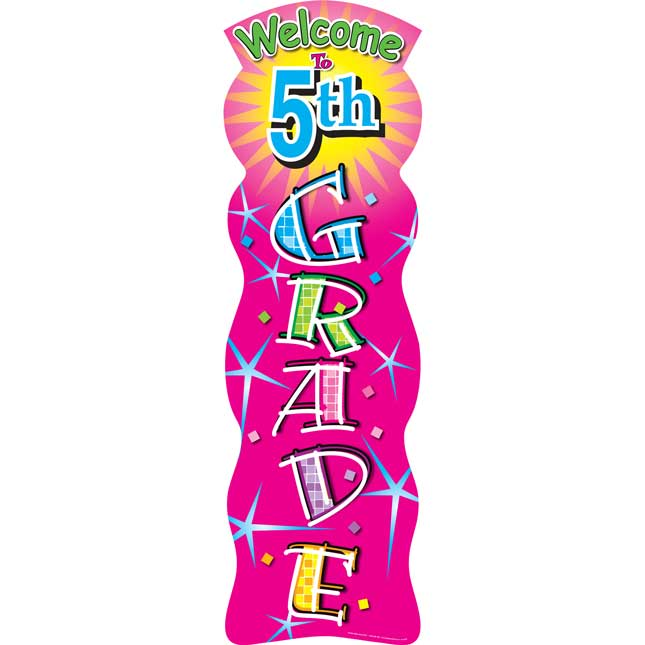 Grades 4 Or 5 Welcome Banners