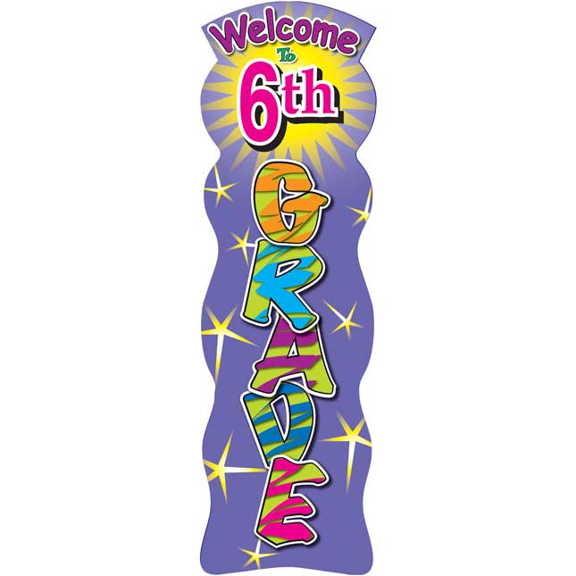 Grade Specific Welcome Bookmarks