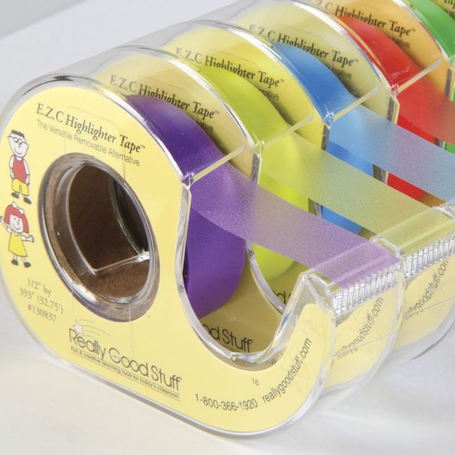 E.Z.C. Highlighter Tape - 1/2-in Wide - 32-ft Long