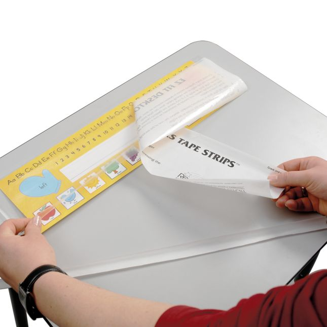 EZ Fit Desktop Helper Tape Strips™
