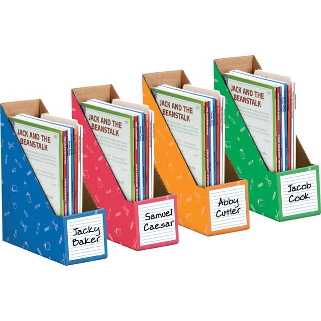 "Store More® Book Holders 11¾"" Tall - Set of 4"