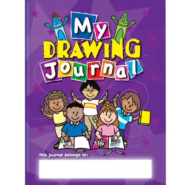 Picture This! Jumbo Drawing Journals - 12 Pack