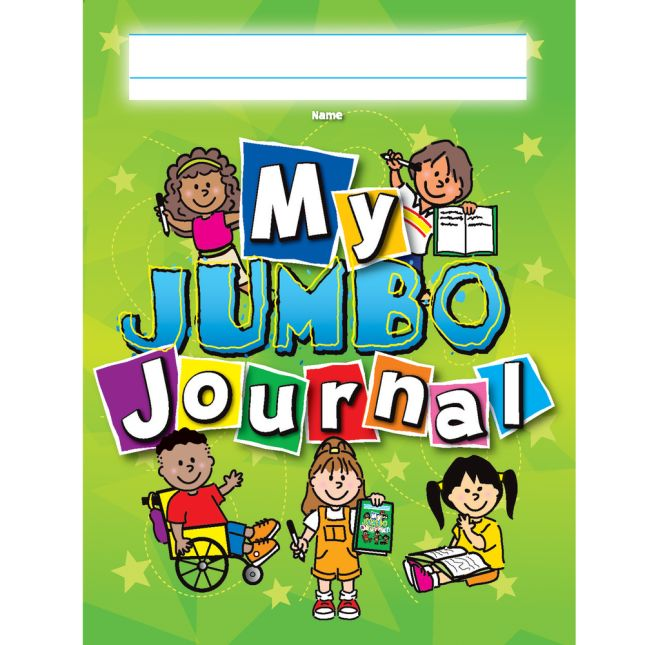 Softcover Jumbo Draw and Write Journals - 12 Pack
