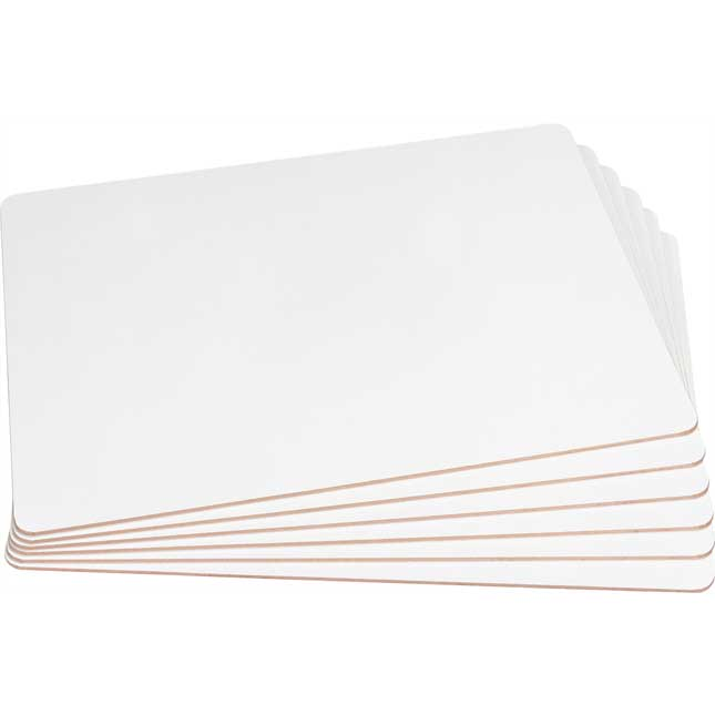 Two-Sided Primary Lined Dry Erase Boards - Non-Magnetic