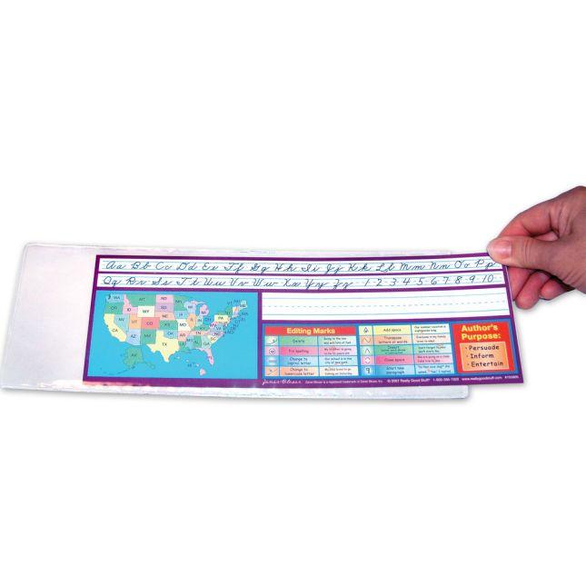 """Two Sided Desktop Helper™ 12"""" Sleeves"""