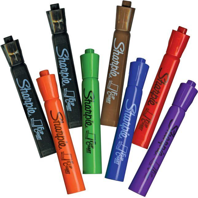 Sharpie® No Bleed Flip Chart Markers