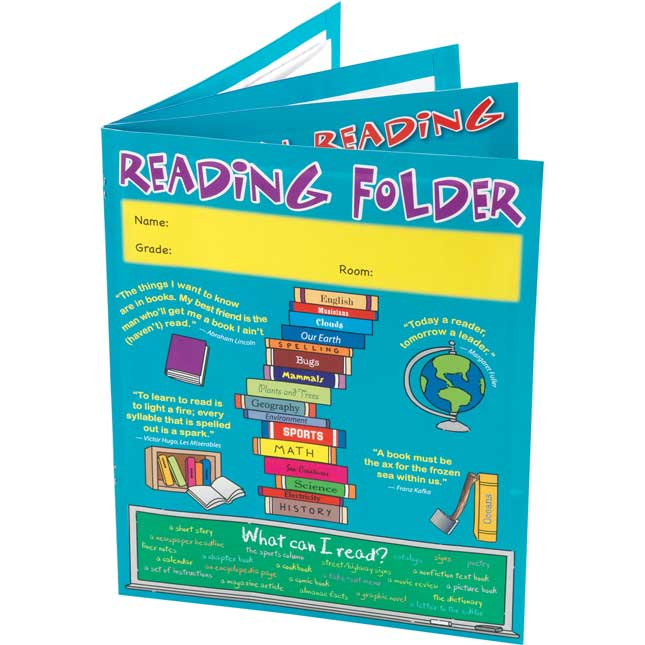 Reading Reference 4-Pocket Folder Intermediate - 12 folders