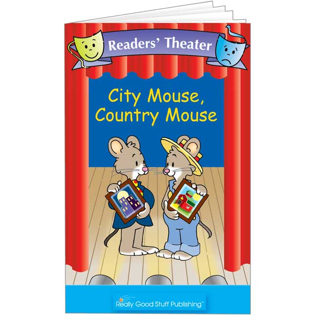 Really Good Readers' Theater - City Mouse, Country Mouse Book