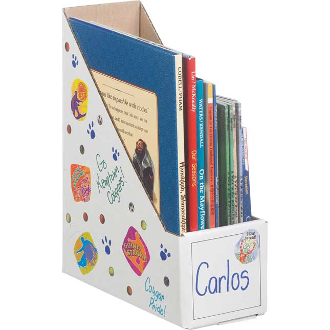 Ready-To-Decorate® Book Holders- Set of 12