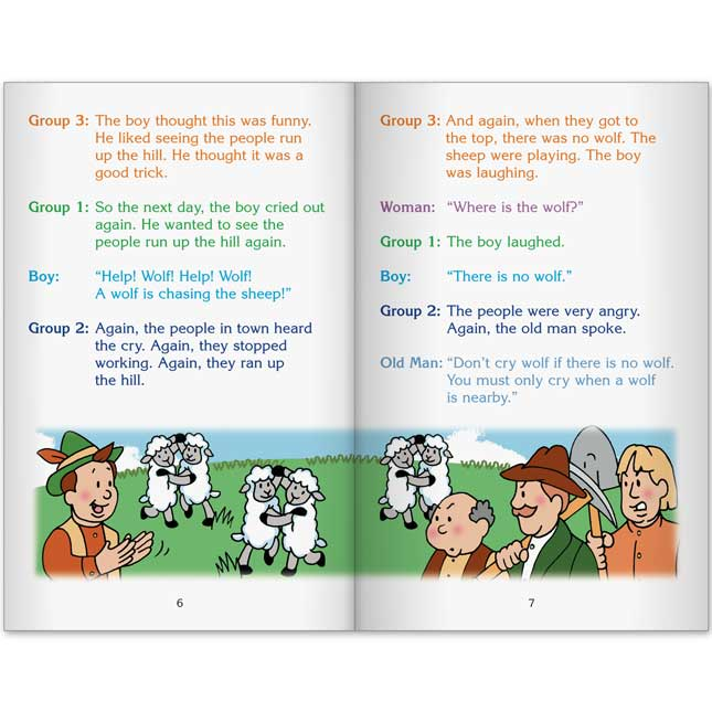Really Good Readers' Theater - The Boy Who Cried Wolf Book