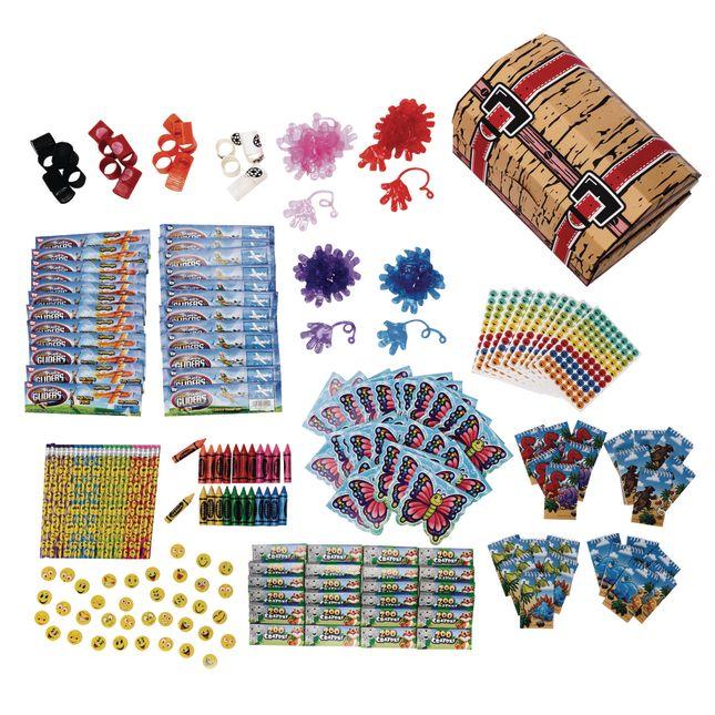Treasure Chest With Treasures - 1 chest, 250 treasures.