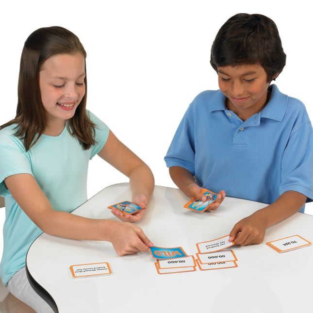 Really Good Tug-Of-War -The Mathematical Place Value Card Game - 64 cards