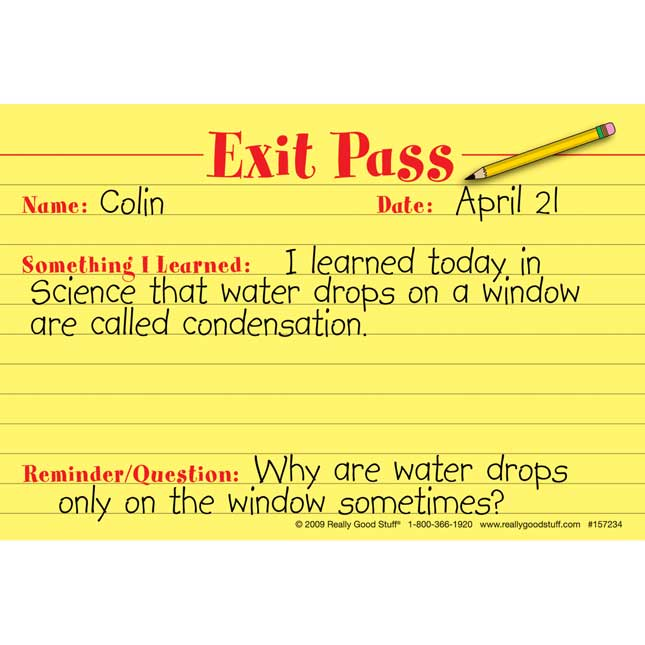 Really Good Exit Passes