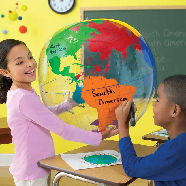 Giant Inflatable Labeling Globe