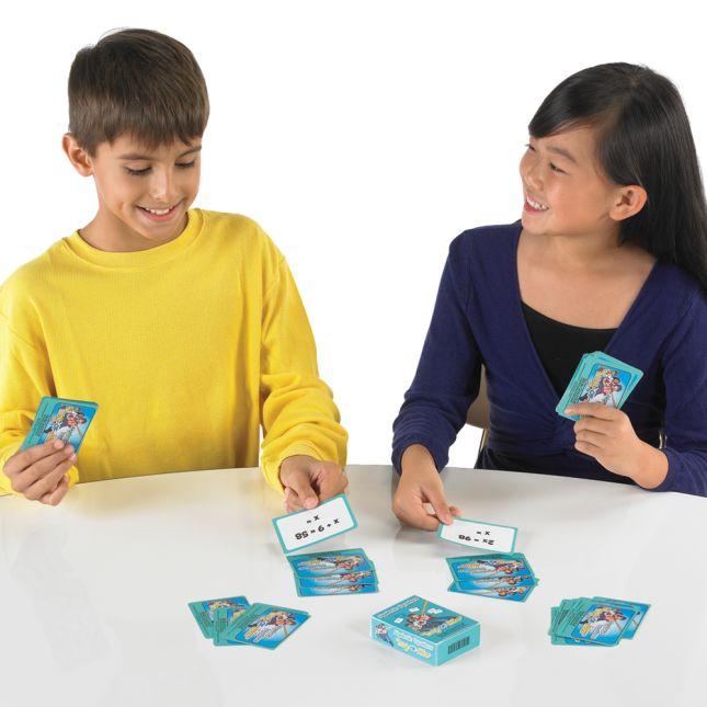 Really Good Tug-Of-War: Simple Algebraic Equations - 64 cards