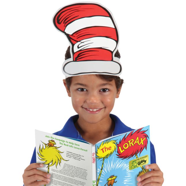 Cat In The Hat Wearable Hats   Set Of 32