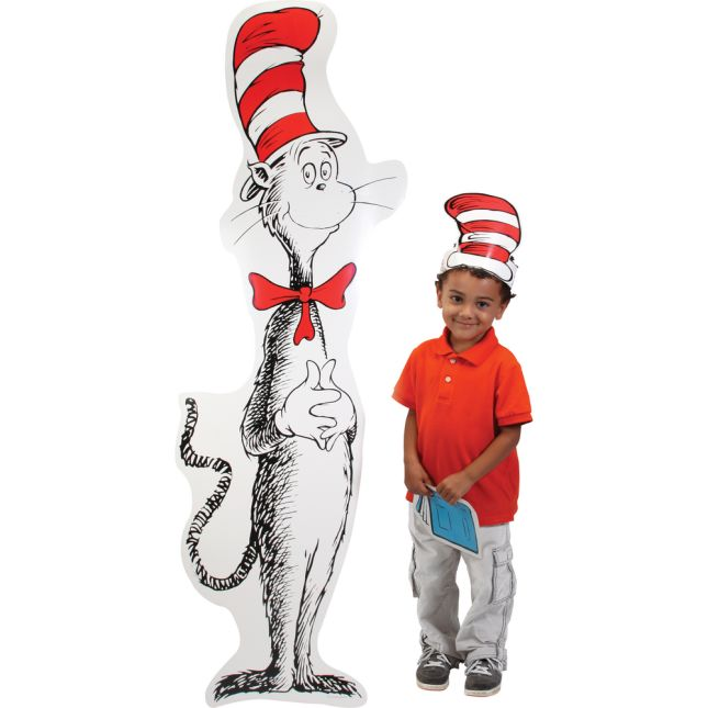 Giant Cat In The Hat Cut-Out Bulletin Board Set