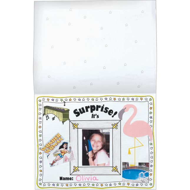 Ready-To-Decorate® Guess Who's Who!