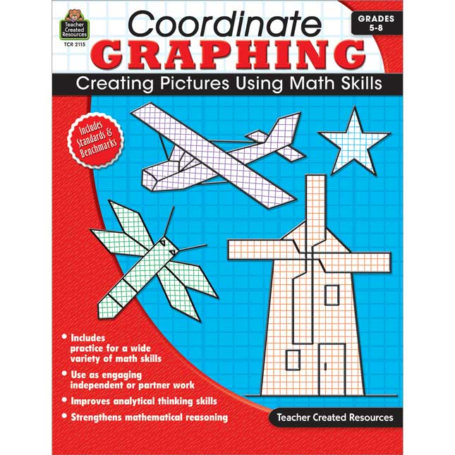 Coordinate Graphing Book - 1 book.