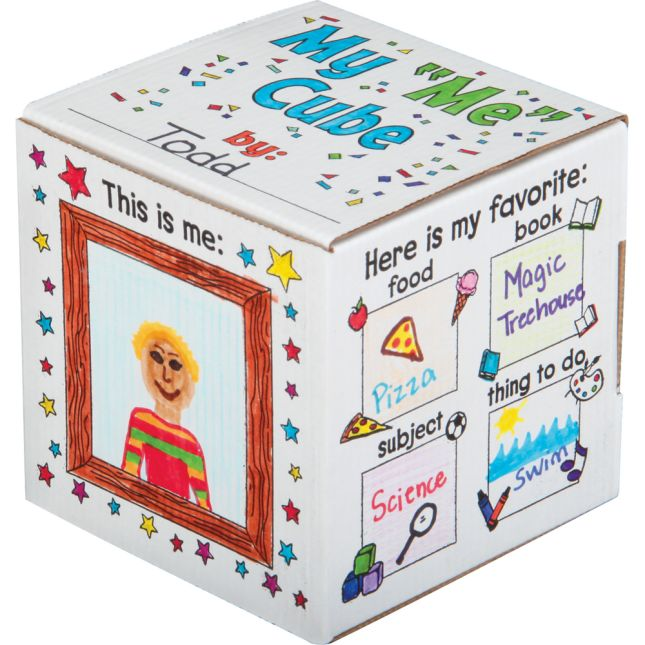 "Ready-To-Decorate® My ""ME"" Cube Set"