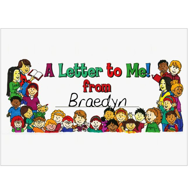 Ready-To-Decorate® First Day-Last Day Letters Kit - set of 24.
