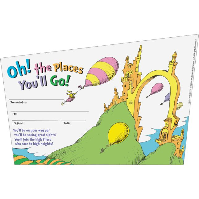 Oh, The Places You'll Go!™ Awards - 36 awards