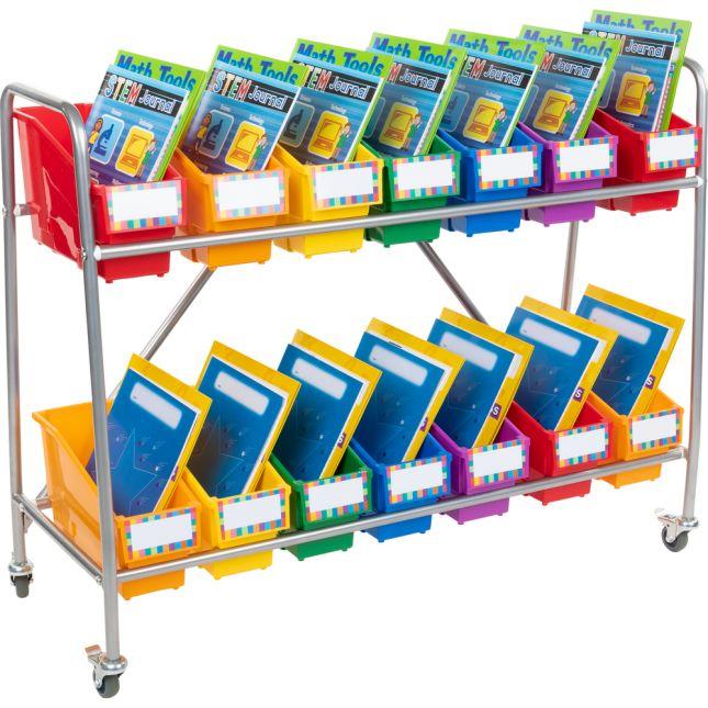 Mobile Storage Rack - 1 book rack