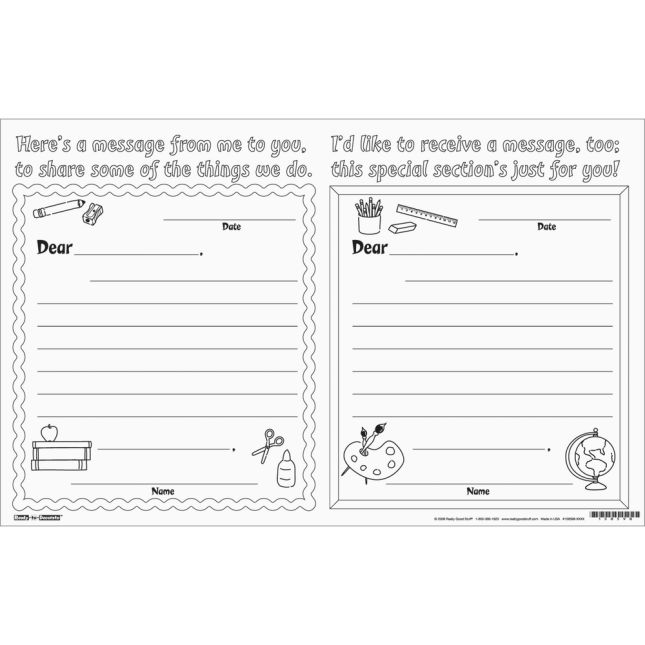 Ready-To-Decorate® Parent Night Note Swap - 24 Notes.