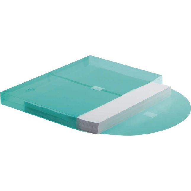Expandable Portfolio Envelopes with Velcro Closure, Tear-Resistant - 12 Pack