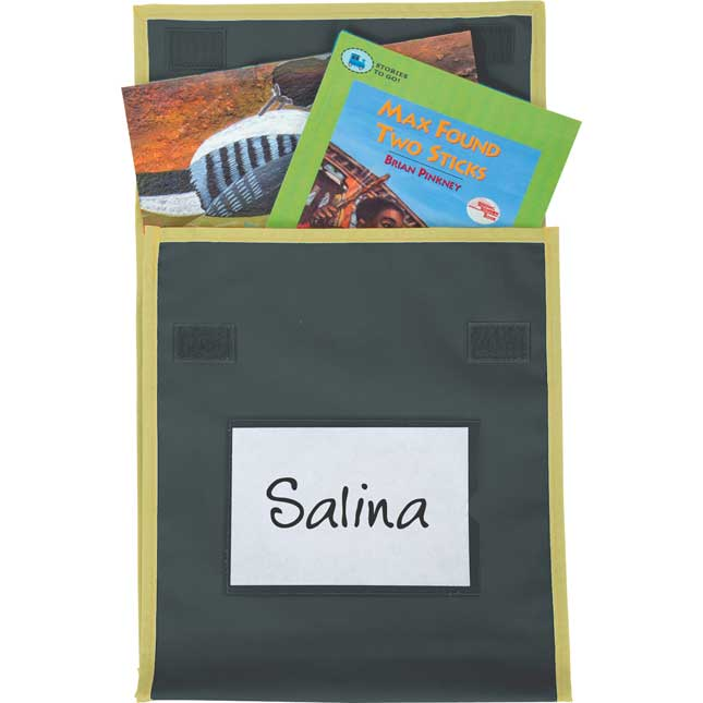 Store More® Medium Book Pouches - Single-Color - Set Of 4