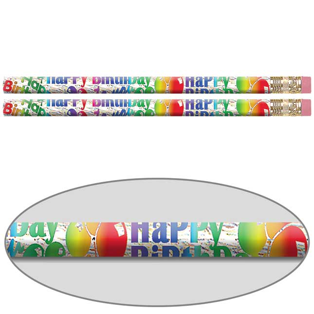 Jumbo Birthday Blitz Pencils