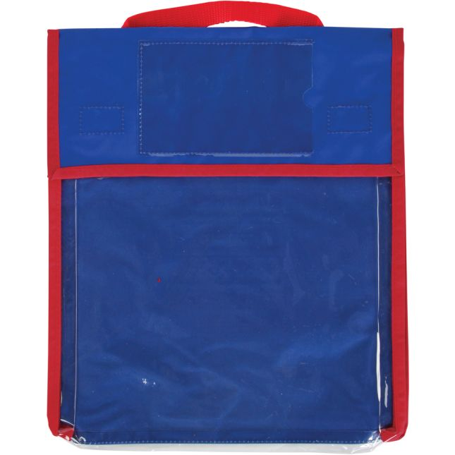Store More® Medium Clearview Book Pouches - Single Color - Set Of 4