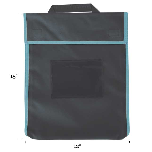 Store More® Large Book Pouches - Single Color - Set Of 4