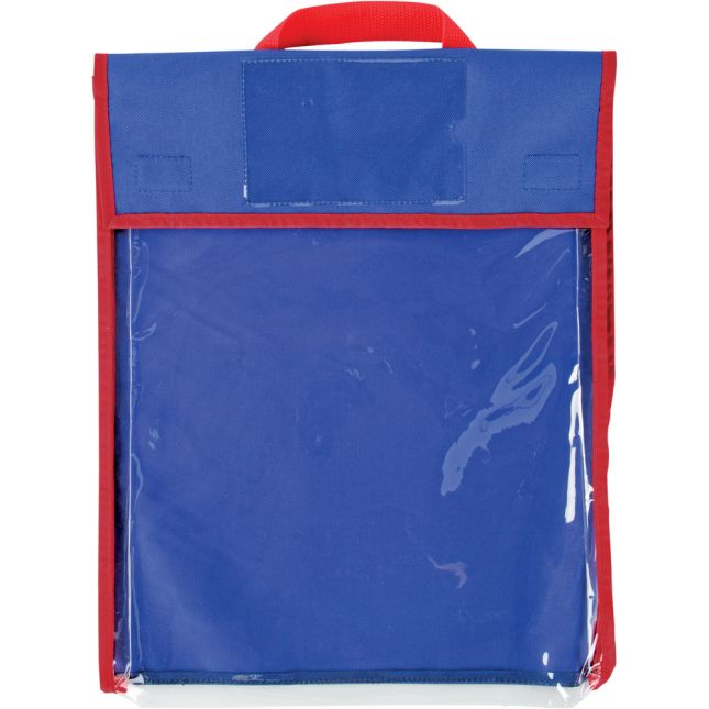 Store More® Large Clearview Book Pouches - Single Color - Set Of 4
