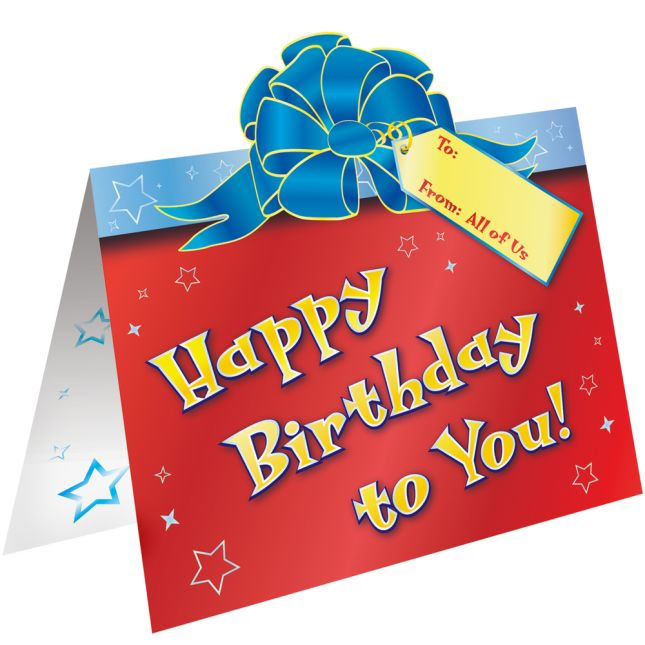 Magnificent Happy Birthday From All Of Us Birthday Cards Personalised Birthday Cards Bromeletsinfo