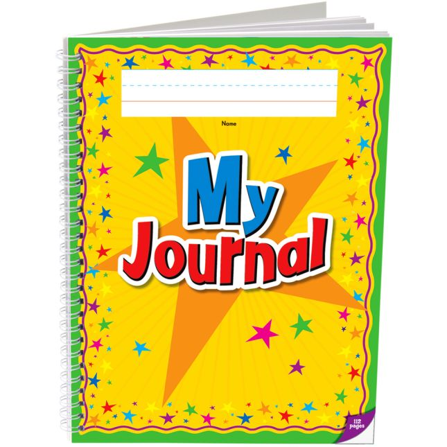 Spiral Draw and Write Journals, Star Cover - 6 Pack