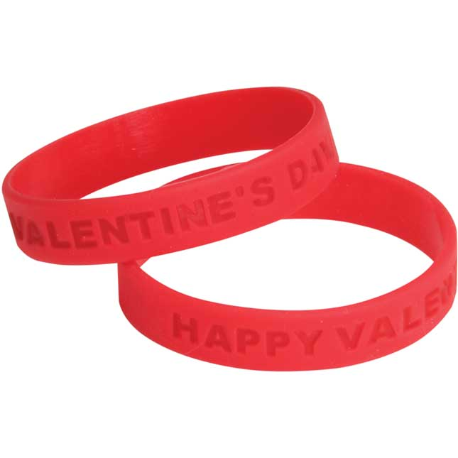 Happy Valentine's Day! Silicone Bracelet