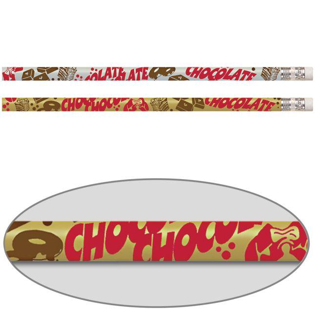 Chocolate-Scented Pencils - 12 pencils