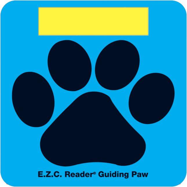 E.Z.C. Reader® Guiding Paws - 12 paws
