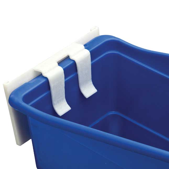12-Pack Universal Basket And Bin Label Holders With Labels