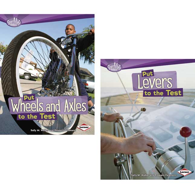 How Do Simple Machines Work? 6-Book Set