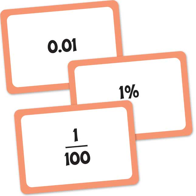Really Good Tug-Of-War Decimals, Fractions, And Percents - 1 deck