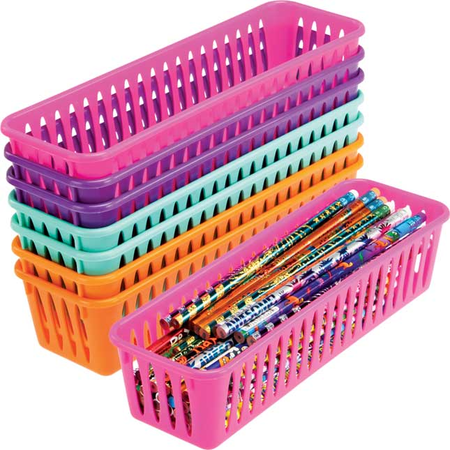Pencil and Marker Baskets - Multi