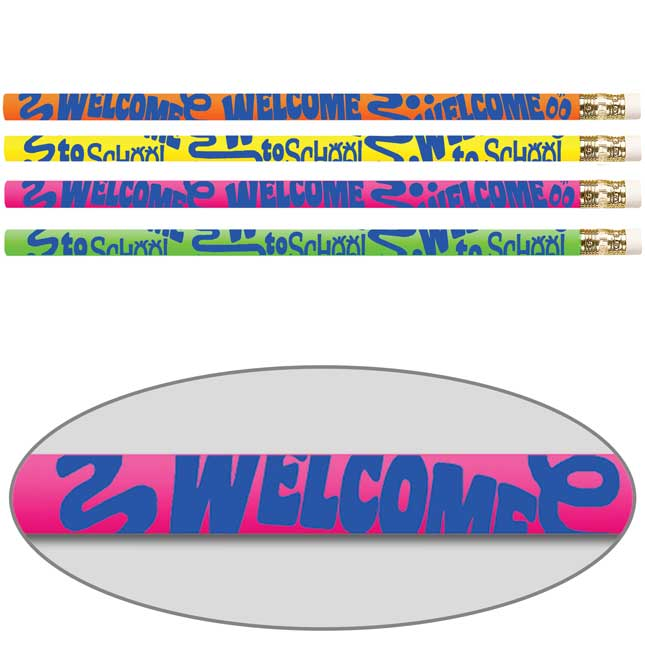 Welcome To School Pencils
