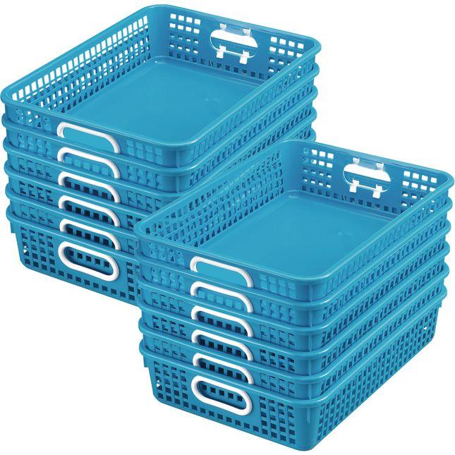 Classroom Paper Baskets - 12 baskets