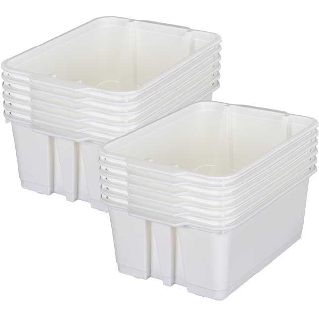 Classroom Stacking Bins - 12 bins